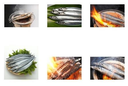 「生魚」と「焼き魚」