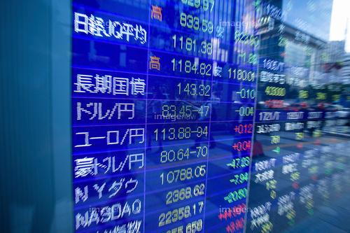 【作品募集】株価電光掲示板の素材募集
